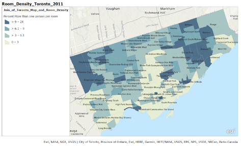 City of Toronto and Canadian Census Infographic