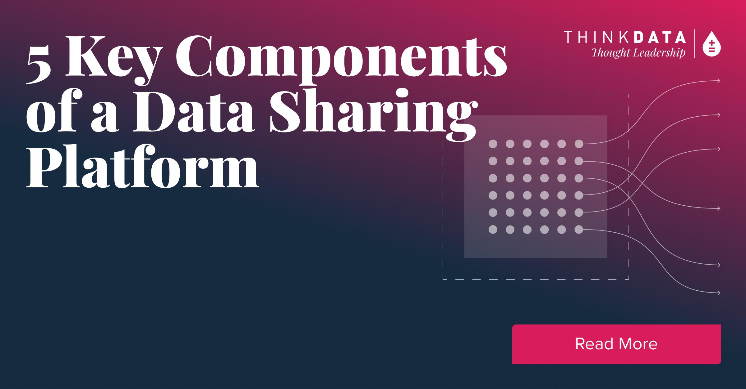 5 Key Components of a Data Sharing Platform